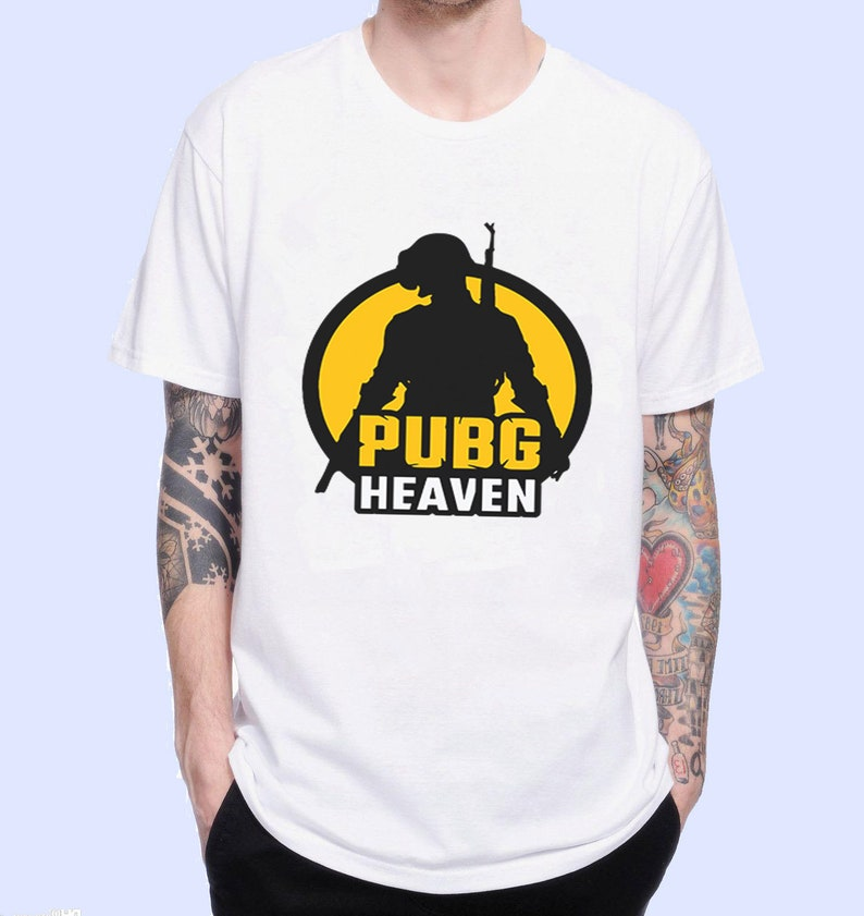 Pubg Heaven Pubg Cool Poster Pubg Playerunknown'S Battlegrounds Game  Inspired  Male And Female T-Shirt