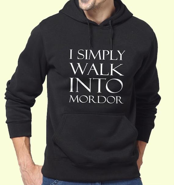 Ik loop gewoon naar Mordor Lord of the Rings film   Etsy