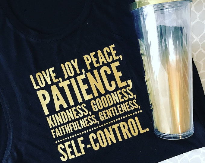 Self Control Flowy Muscle Tank