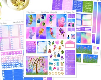 Fairy Hollow - Printable Planner Stickers - Instant Download
