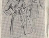 1960s Vintage Sewing Pattern B34 COAT (1209) Weldons 8025