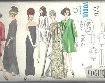 4c6646d9d6 1966 Vintage VOGUE Sewing Pattern B38