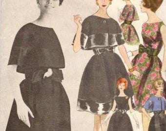8d1ec7e18b 1960 Vintage VOGUE Sewing Pattern B36