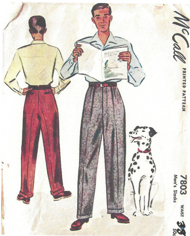 4224149a 1940s WW2 Vintage Sewing Pattern W38