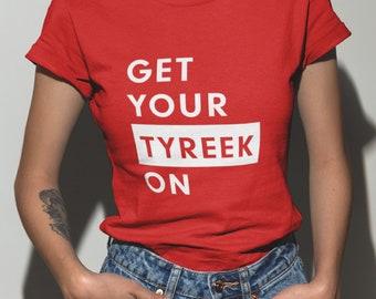 Get Your Tyreek On. Tyreek Hill Shirt. Kansas City Chiefs Shirt. Unisex  Shirt. Chiefs Gear. NFL Shirt. Funny Football. Game Day Outfit. e6716a3b7