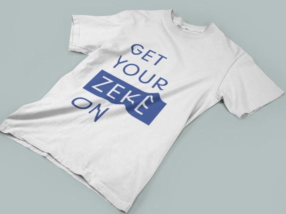 first rate 58cc0 9b7e9 Get Your Zeke On. Dallas Cowboys T-Shirt. Zeke Elliot Shirt. Football  T-Shirt. Ekeziel Elliott. Unisex Shirt. NFL T-Shirt. Game Day Outfit.