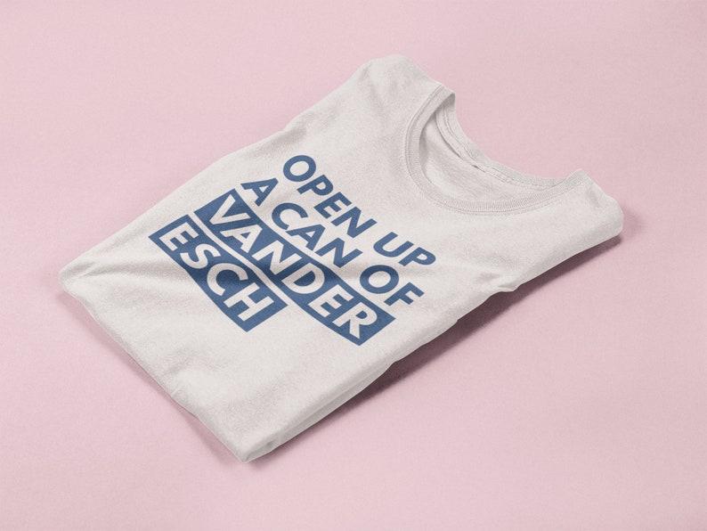 info for a7580 42325 Open Up Can of Vander Esch Shirt. Leighton Vander Esch Tee. Dallas Cowboys  Shirt. NFL Shirt. Game Day Outfit. Sunday Funday. Drinking Shirt.