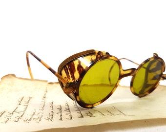 7bb29fcfabc5 Antique Vintage Bakelite tortoise sunglasses