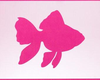 Nemo Fish Mylar Stencil Art Craft Home Decor Painting DIY Wall Reusable Various sizes FREE POSTAGE!