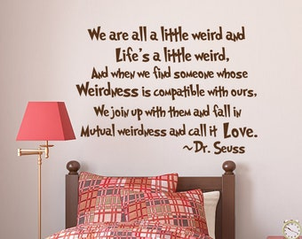 Dr Seuss Wall Decal Quote The More That You Read Dr Seuss Etsy