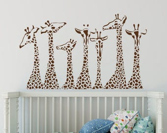 More Colors. Giraffe Wall Decals Nursery ...