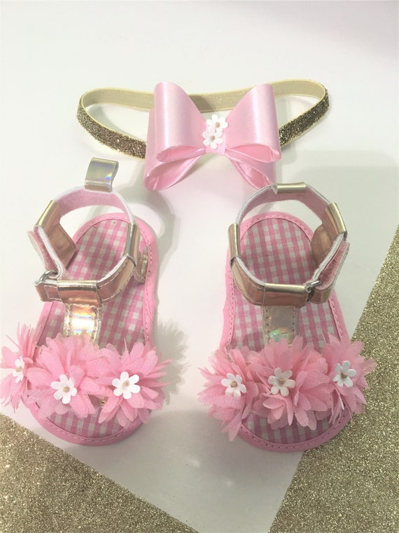 Baby girl Sandals Baby pink Sandals