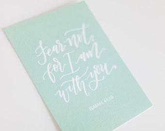 Print - Fear Not