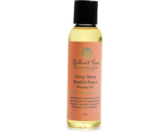 Massage Oil for Relaxation - Safe for Pregnancy