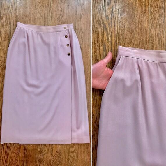 Vintage pastel tube skirt, vintage pastel skirt wi