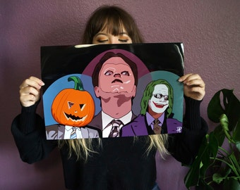 LIMITED EDITION Spooky Dwight Poster