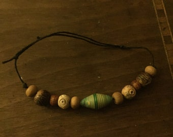 Adjustable South American Beaded Bracelet Made By Hand