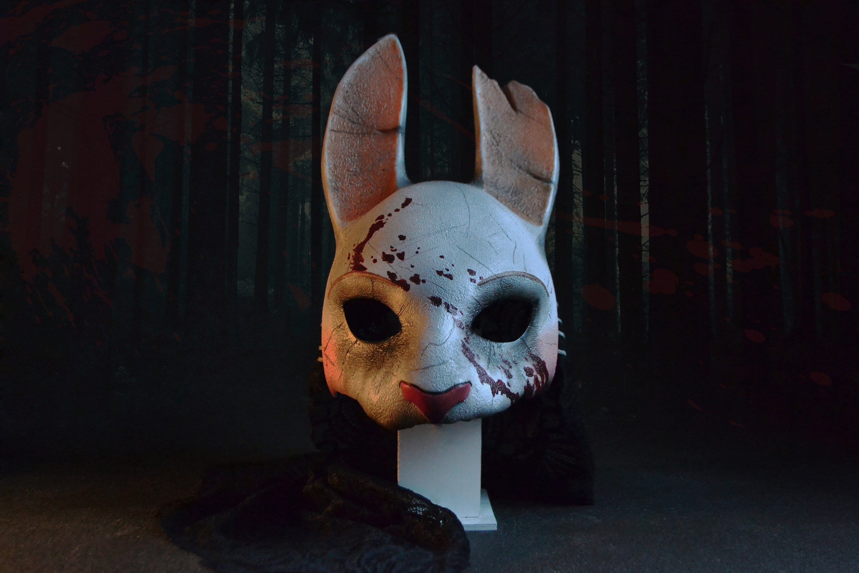 deaddaylight huntress mask wearable halloween costume | etsy