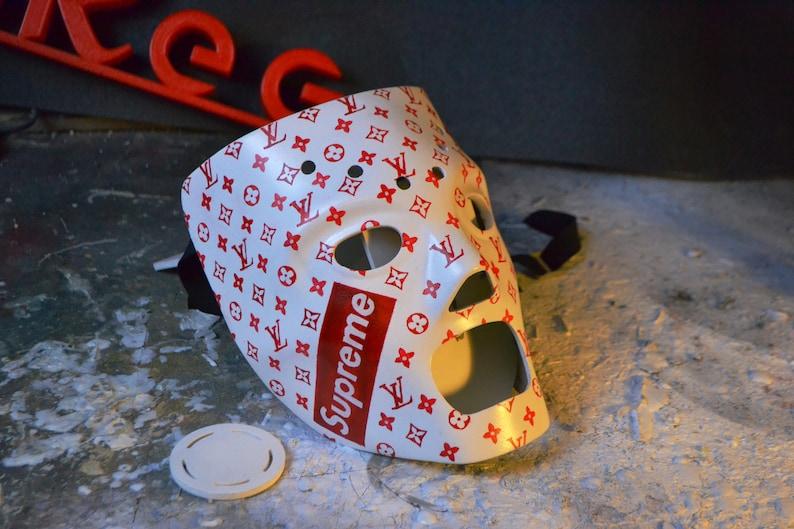 85ef5e19d6610 Louis Vuitton Supreme Ski Mask Hockey Mask