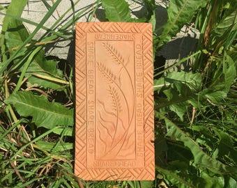 Terracotta 'Share Bread' Breadstone