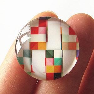 Mickey Mouse Cabochon Circle Handmade Photo Glass Round Dome Flat Back 8mm 10mm 12mm 14mm 16mm 18mm 20mm 25mm 30mm CW761