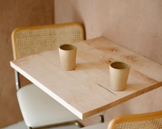 Raw Clay Tumbler, tumbler, handmade ceramic cup, handmade ceramic tumbler