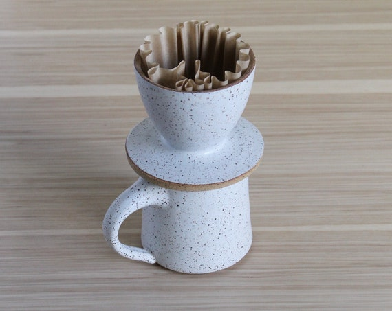 Mug + Coffee Pour Over SET