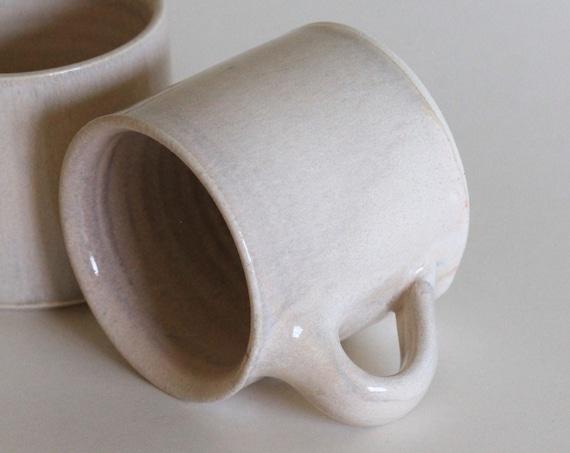 Pink Mug, ceramic mug, coffee mug, tea mug, handmade mug, hand thrown mug, white coffee mug, white mug, rustic mug