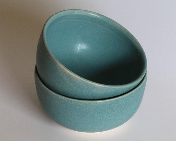 SET OF TWO blue bowls, ramen bowl, rustic bowl, ceramic bowl, pottery bowl, small bowl, handthrown bowl, small handmade bowl, handmade bowl