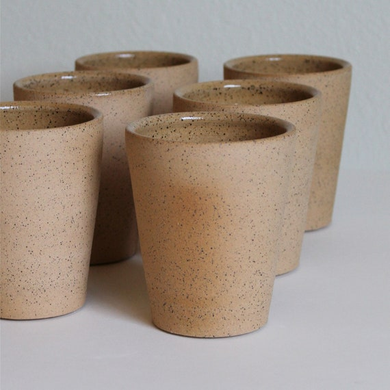 SET OF 4 ceramic tumblers [Leharvest]