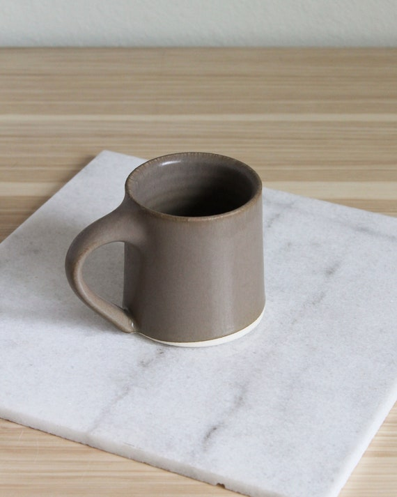 Brown Mug, Coffee Mug, Tea Mug, Hand thrown Mug, Pottery Mug, Handmade Mug, Ceramic Mug