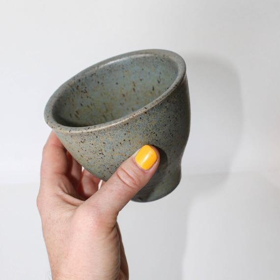 Japanese tea cup, tea cup, green tea cup, rustic tea cup, handmade tea cup, ceramic tea cup, bohemian tea cup, rustic modern tea cup