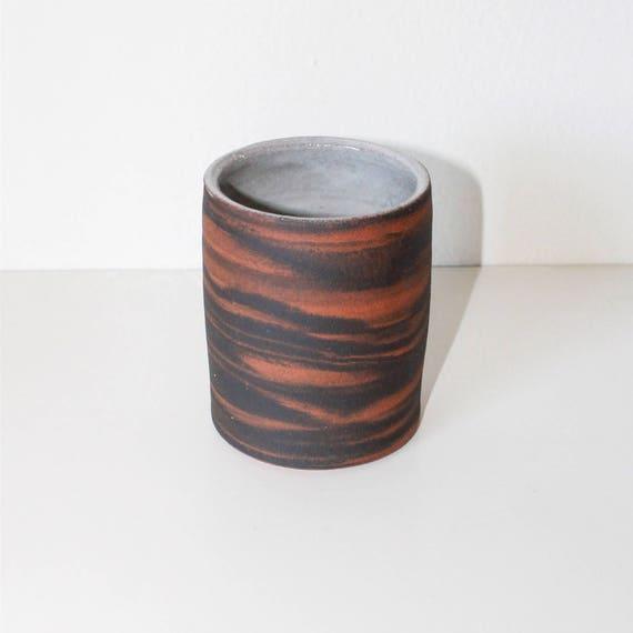 Marbled Ceramic Tumbler, Marbled Ceramic Mug, Ceramic Cup, Coffee cup, Tea Cup, Japanese Tea Cup