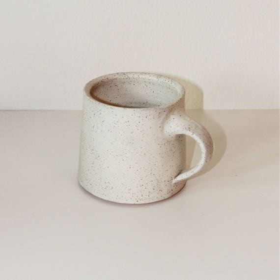 14oz white mug, ceramic mug, coffee mug, coffee mug, tea mug, handmade mug,