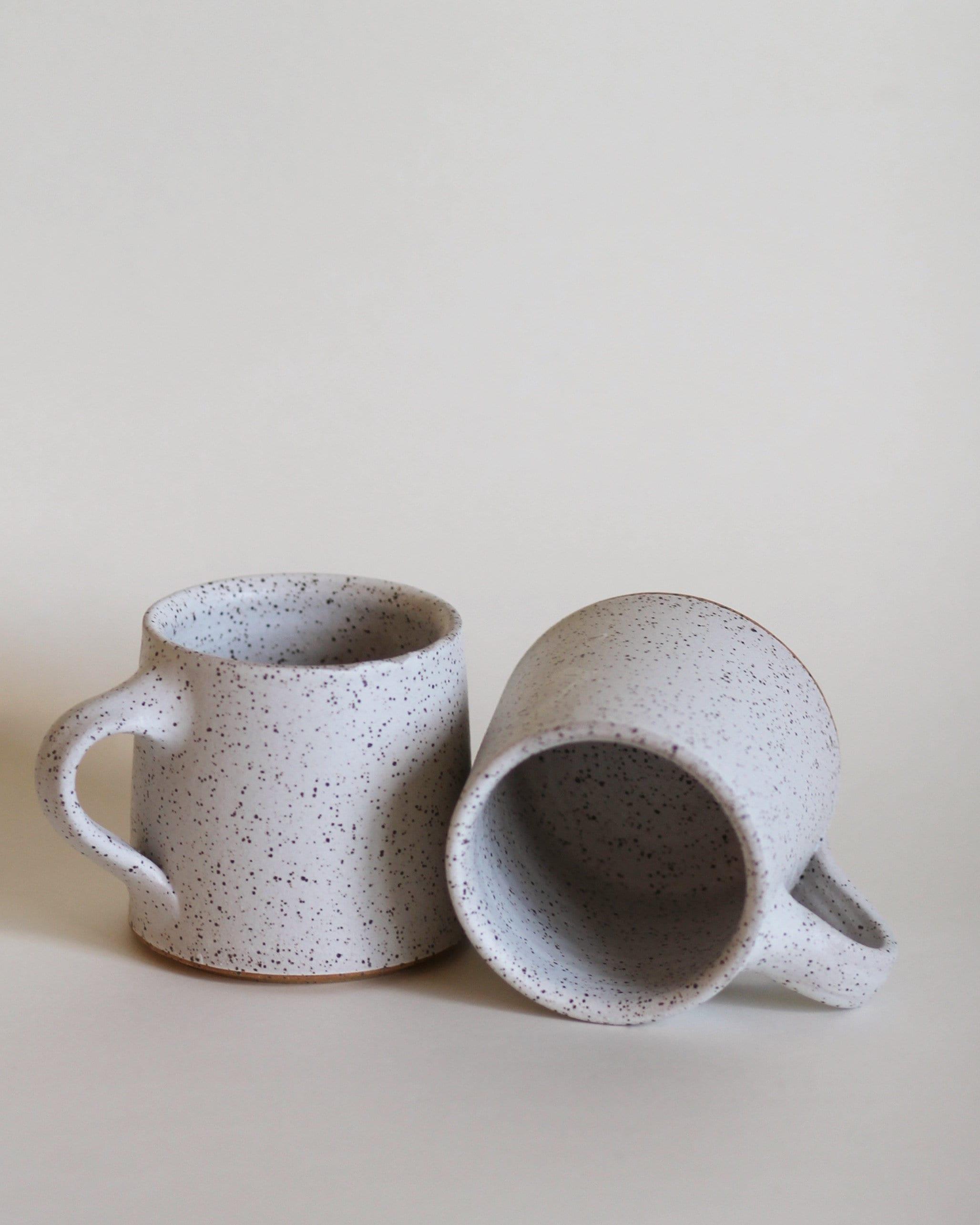 166b738e035 SET OF 2 white mugs, ceramic mug, coffee mug, tea mug, handmade mug, hand  thrown mug, white coffee mug, white mug, rustic mug
