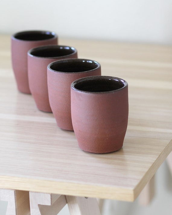 red clay tumbler, tumbler, ceramic cup, red clay cup, tea cup, wine tumbler, whiskey tumbler, coffee tumbler, ceramic coffee tumbler