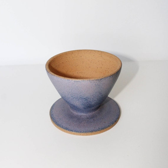 Lavender pour over, coffee pour over, pour over coffee, coffee filter, coffee lovers gift, handmade pour over, ceramic pour over