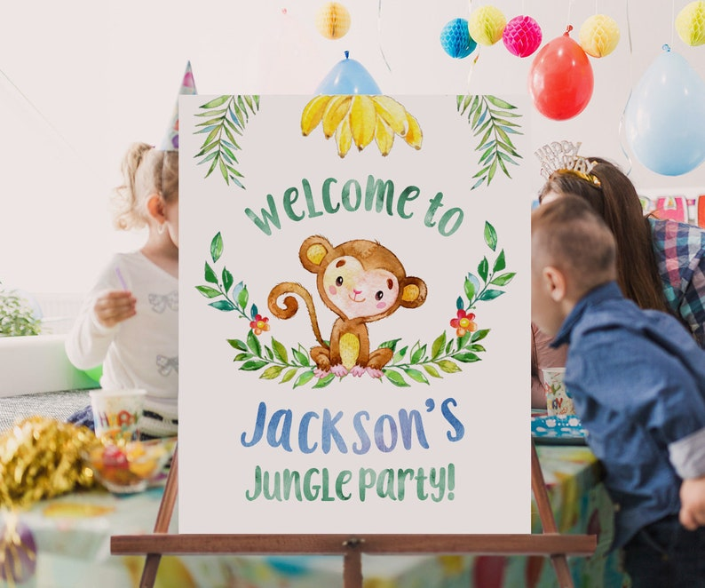 Party sign | Kids party planning | Beanstalk Mums