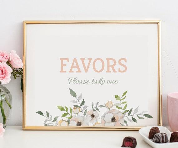 vintage bridal shower favors sign kitchen tea favors sign etsy