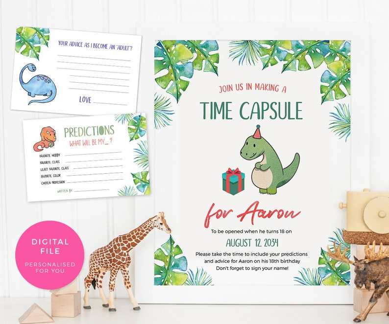 Tropical Table numbers INSTANT download  Jungle Table number cards  PRINTABLE  1-12 digital pink table cards, table decor Dinosaur decoration