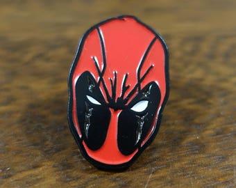 Deadpool Fan Art Soft Enamel Hat & Lapel Pin