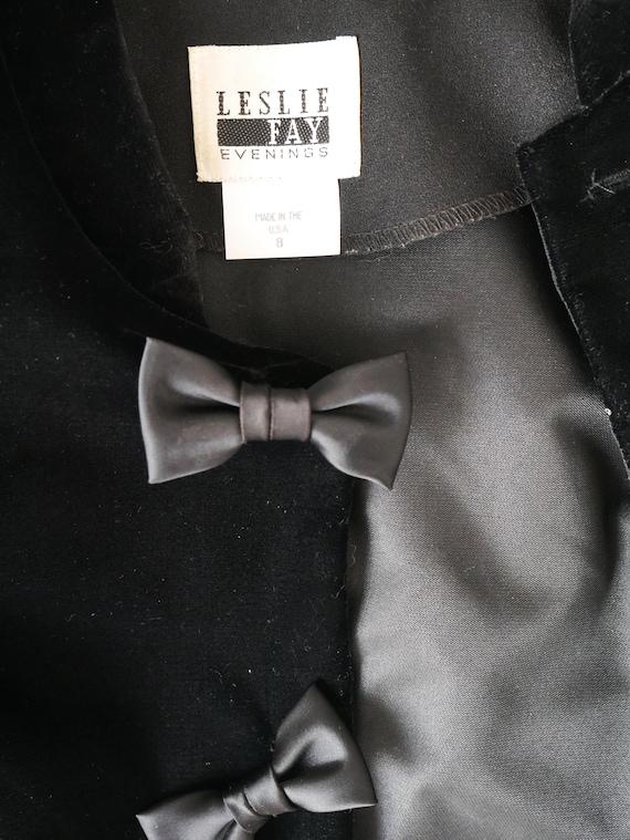 Vintage 1980's Leslie Fay Pants Suit, Two-piece S… - image 9