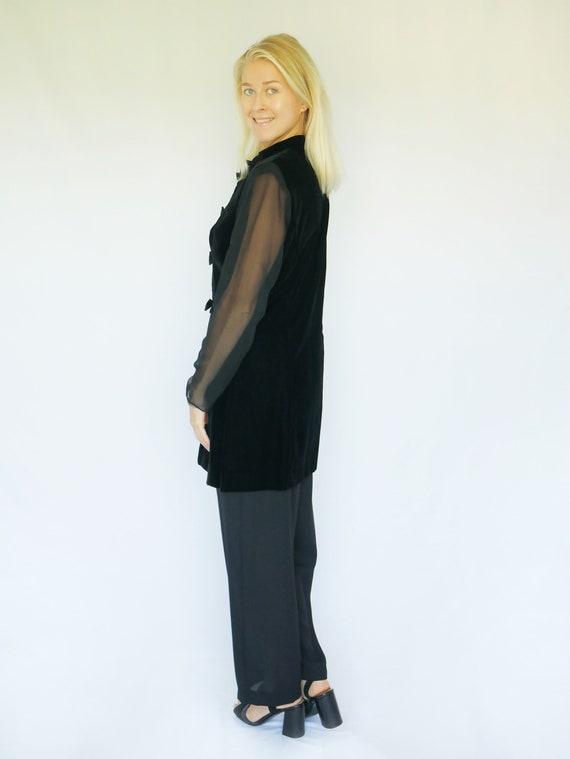 Vintage 1980's Leslie Fay Pants Suit, Two-piece S… - image 3
