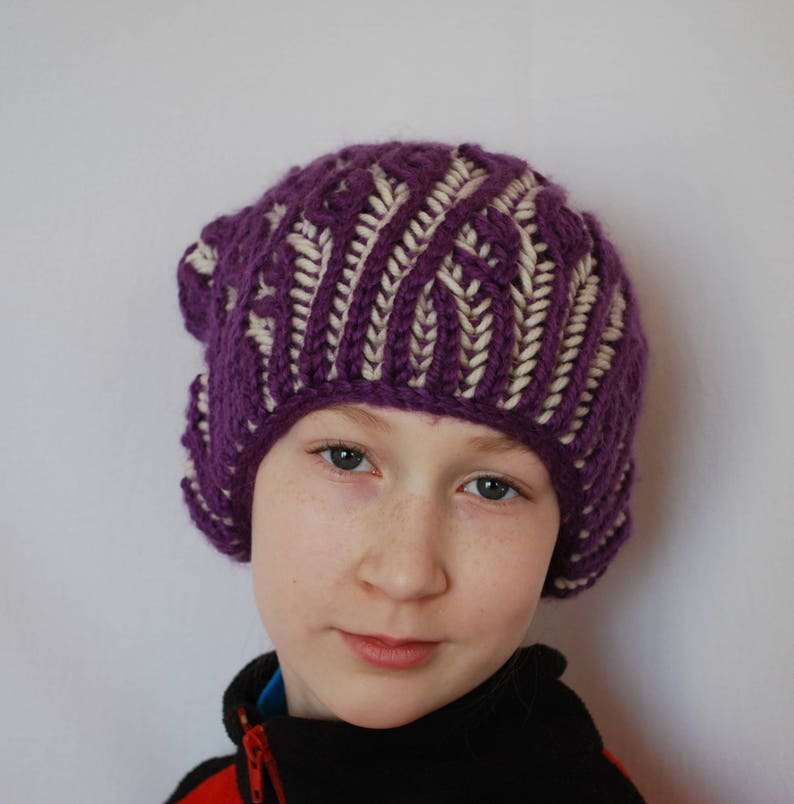 Oversized beanie hat slouch beanie hipster beanie hat  8a7c2b172f3