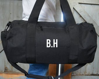 33d20ce4d48f Personalised Gym Bag - Yoga Bags - Personalized Gift - Overnight Bag -  Personalised Gift - Weekend Bag - Gifts for Men - Christmas Gift