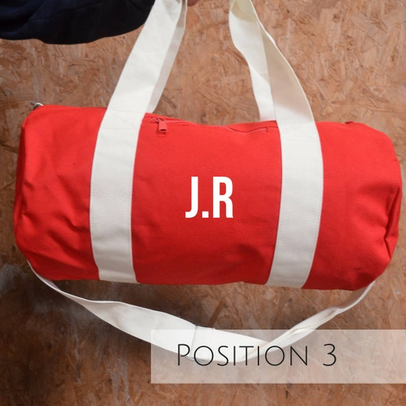 Personalised Red Gym Bag Best Yoga Gifts Yoga Bags for  12ed7b743e9d6