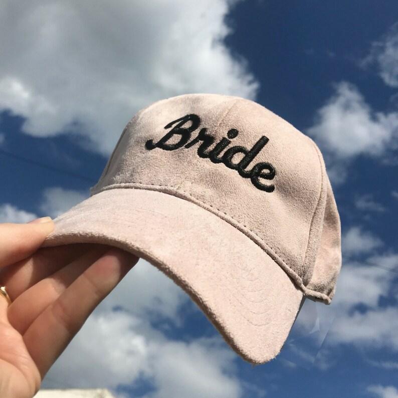 30d40e047 Personalised Cap - Suede Cap - Hen Caps - Custom Caps - Hen Party -  Bridesmaid Hat - Bride Hat - Bride Cap - Pink Cap - Gifts for Bridesmaid