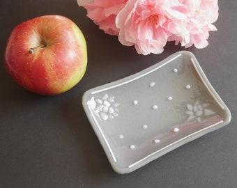Fused glass SOAP dish