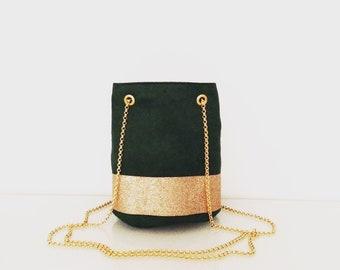 Pine Green purse