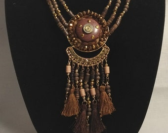 Time Construct Steampunk Necklace